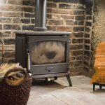 Self-catering accommodation in Northumberland, Bramley cottage log burner