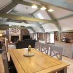 Self-catering cottage in Northumberland, Millstone cottage dining room