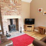 Coastal Cottages Northumberland Red Fox Cottage Living Room