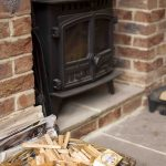 Self-catering cottage in Northumberland, Roe Deer log burner