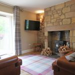 Coastal Cottage n Northumberland - Rosefinch Cottage Lounge