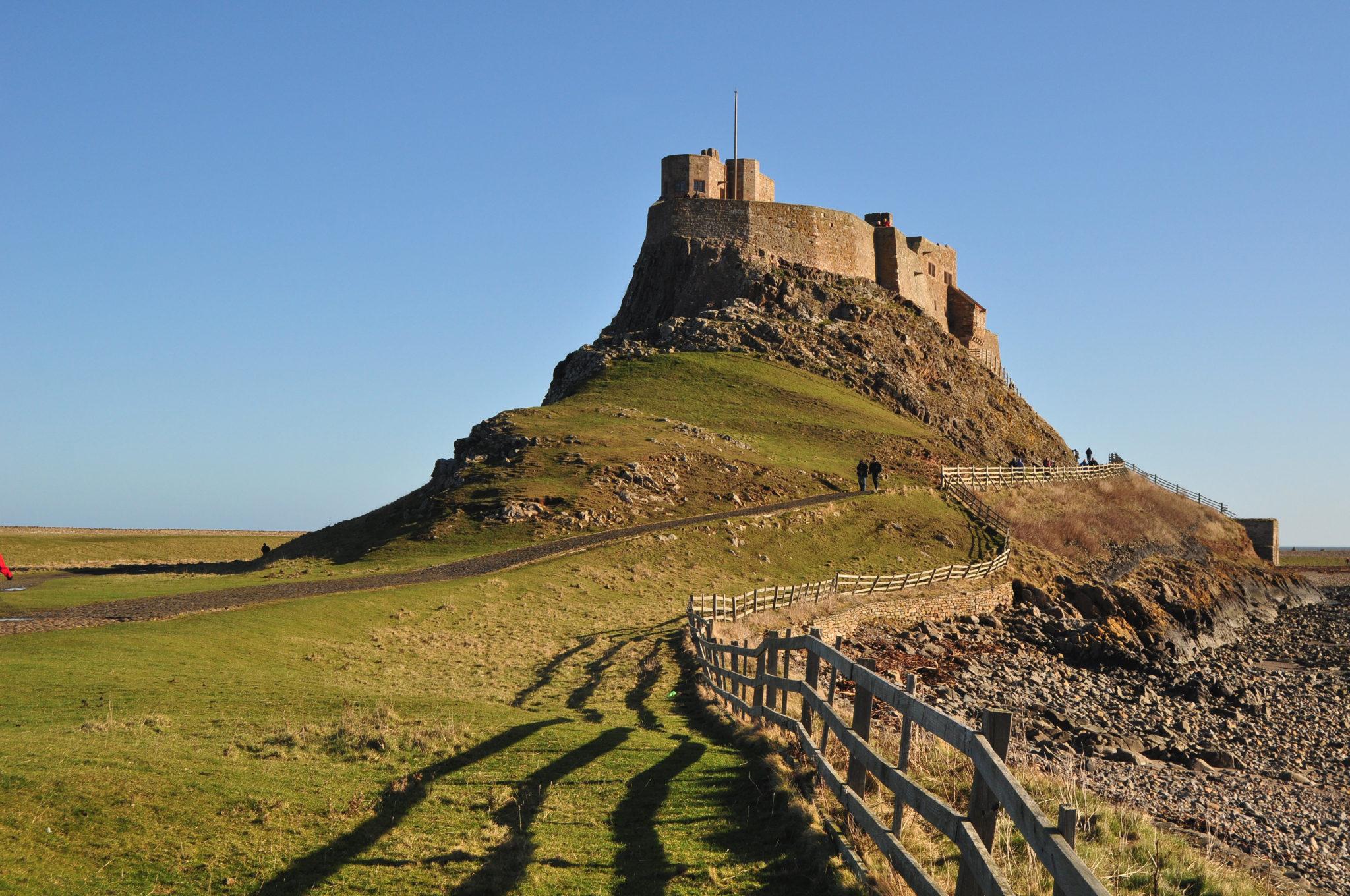 Lindisfarne (Holy island) - The castle, Northumberland Stablewood Coastal Cottages