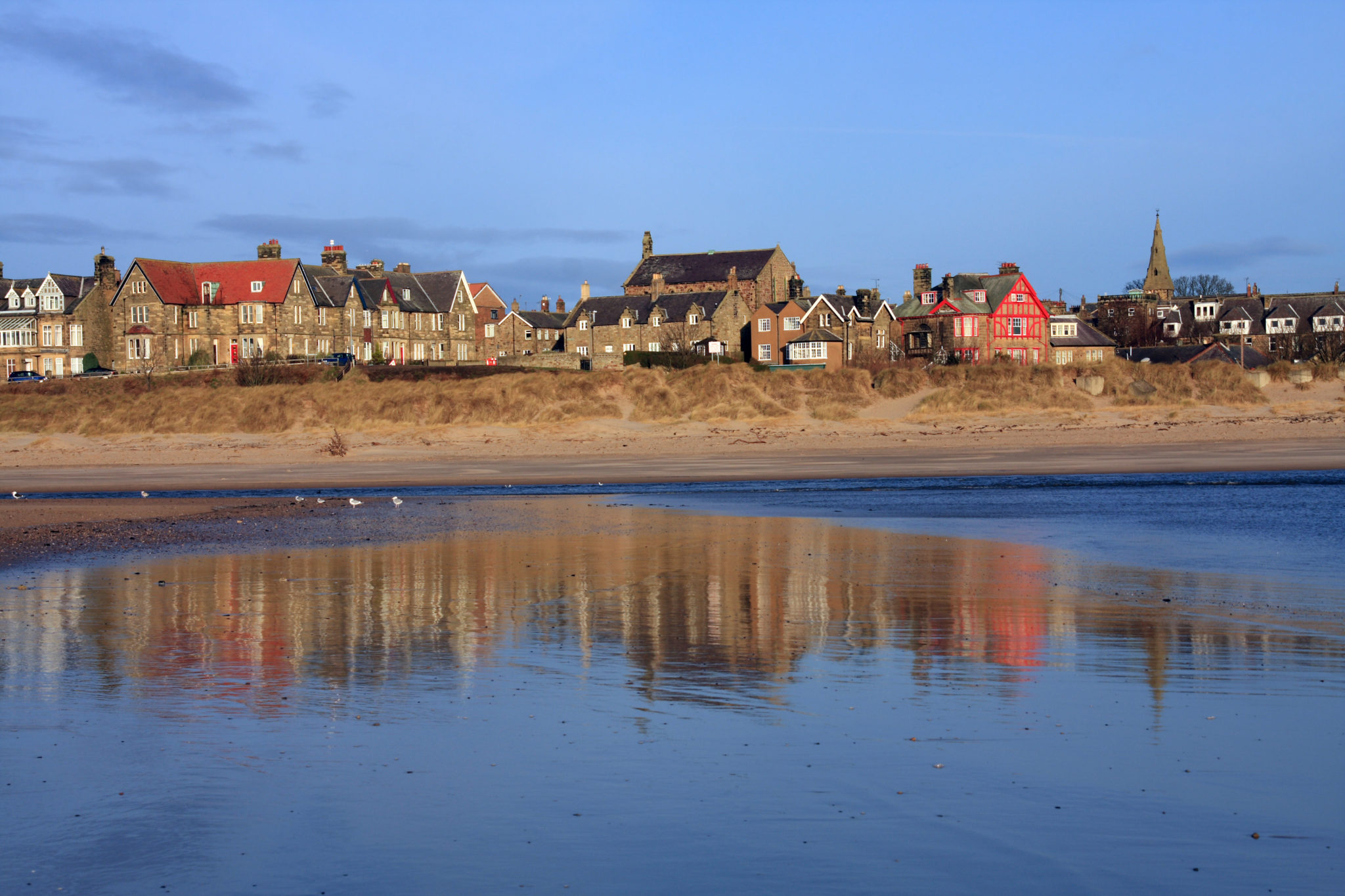 Alnmouth, Northumberland, Stablewood Coastal Cottages
